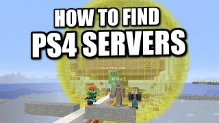 MINECRAFT - PS4 - HOW TO FIND SERVERS TUTORIAL ( PS3 / XBOX )