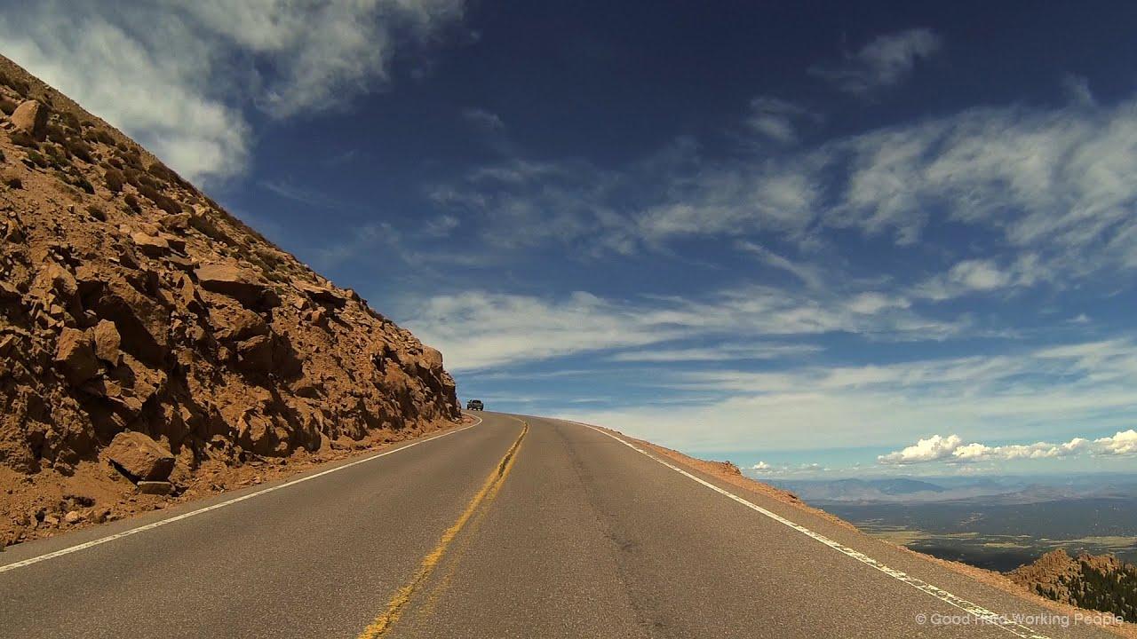 Colorado Fall Wallpaper Driving Up Pikes Peak Highway In A Colorado Minute Week