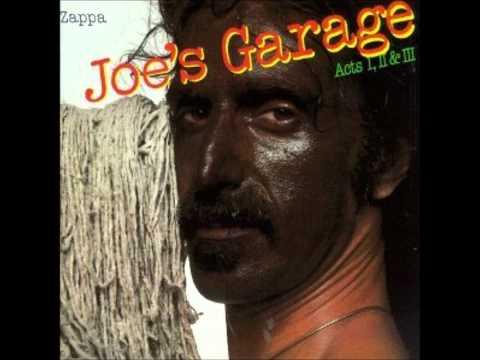 Fembot in a Wet T-Shirt Frank Zappa Joe's Garage Album
