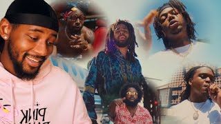Dreamville - Down Bad feat. J.I.D, Bas, J. Cole, EarthGang & Young Nudy (Official Video) 🔥 REACTION