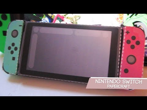 Nintendo Switch Papercraft + Where Have I Been?