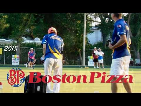 Boston Pizza supporting Lawn Bowling in Canada