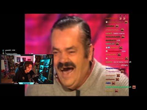 Rubius REACCIONA Al Vídeo De RISITAS! Meme ESPAÑOL😂