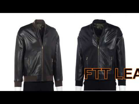 Áo Da Bomber - FTT LEATHER