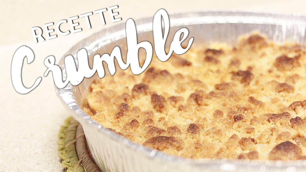 Recette De Crumble Facile Rapide Easy Crumble Recipe Youtube