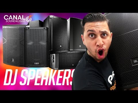 Shopping for (NEW) DJ Speakers | Speaker Demos (EV, DAS, QSC, JBL)