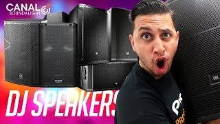 Shopping for (NEW) DJ Speakers   Speaker Demos (EV, DAS, QSC, JBL)