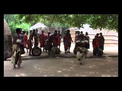 MATSAMO CULTURAL VILLAGE DANCERS SWAZILAND MARCH 2012