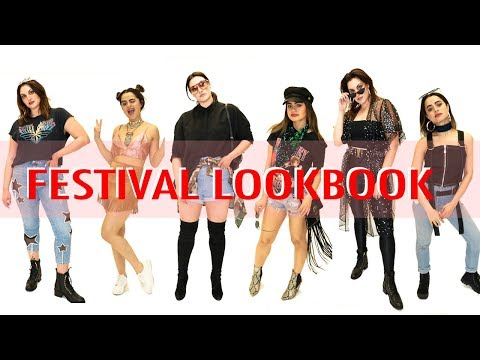 What to Wear to a Music Festival: Plus Size & Petite