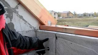 Мансарда  второй этаж  Делаю балкон(Мансарда второй этаж Получается что если не сделать балкон, то не вывести крышу. Пришлось в срочном порядк..., 2013-10-13T04:15:35.000Z)