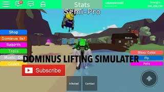 Roblox dominus lifting simulateur de broyage