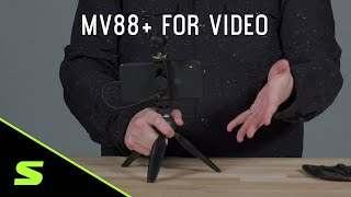 Shure MV88+ How to set up for videography
