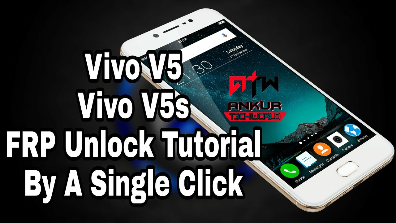 Vivo V5, V5s Frp Unlock, Remove,Bypass Without Flash By Miracle 2 27a Crack  100% By Ankur Tech World by Ankur Tech World
