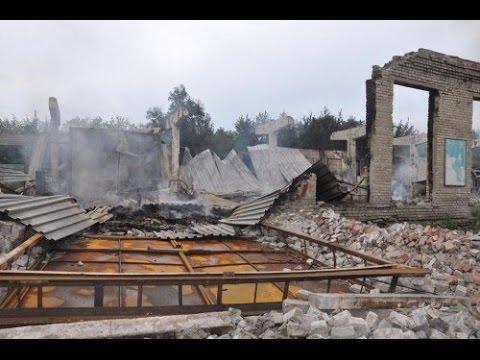 В Луганске разрушена мебельная фабрика