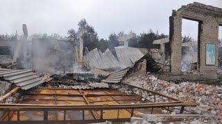 В Луганске разрушена мебельная фабрика(Видео телеканала