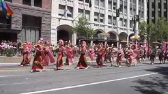 San Francisco Pride Parade 2014 GAPA Gay Asian Pacific Alliance Foundation & Osha Thai