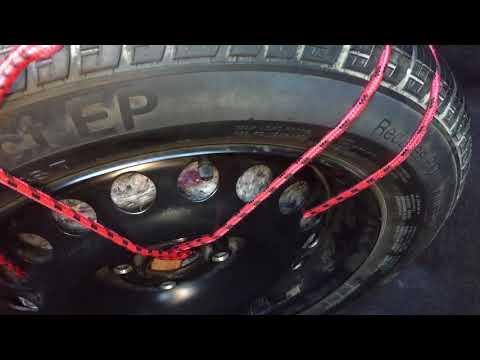 Life-hack для запасного колеса когда установлено ГБО.