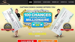 (Testing the Site for Review) - Captain Cooks Casino Review - checking license, games, etc.