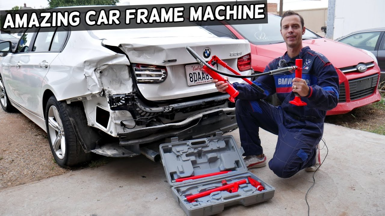 Amazing Car Frame Machine Portable Frame Machine Frame Repair Review Youtube