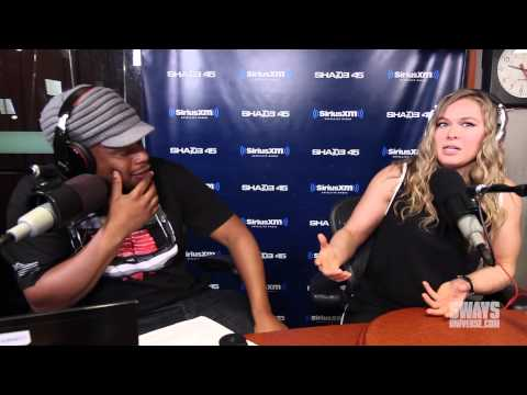 """Ronda Rousey Addresses Cris Cyborg Comments, Working on """"Furious 7"""" & Puts DB In an Arm Bar"""