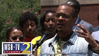 T.I., Central Park Five, Ebenezer Baptist pastor take part in criminal justice reform effort