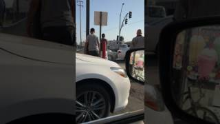 Funny Video: Crazy Hit and Run In Los Angeles