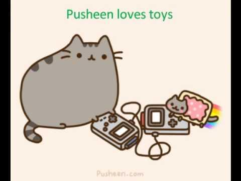 pusheen the cat youtube