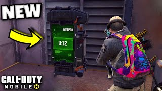 *NEW* VENDING MACHINES drop FREE GUNS! | Call of Duty Mobile | SOLOS vs SQUADS