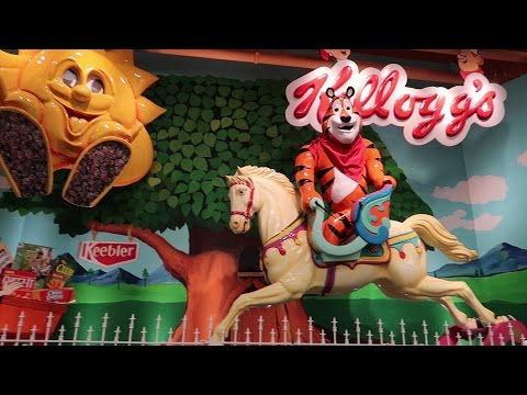 Is This A Theme Park Or A Grocery Store?!? | Tour Jungle Jim's, Try White Castle & Our Trip Home