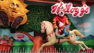 is this a theme park or a grocery store?? tour jungle jims try white castle our trip home