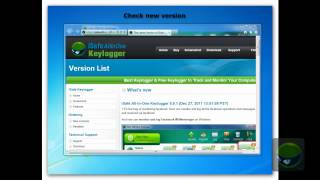 How to register,update and uninstall iSafe Allinone Keylogger