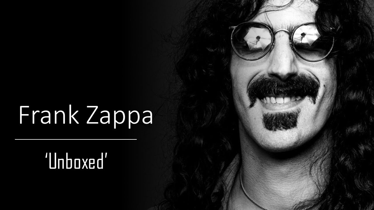 Frank Zappa: 'Mothers 1970' 4CD Set - Unboxing