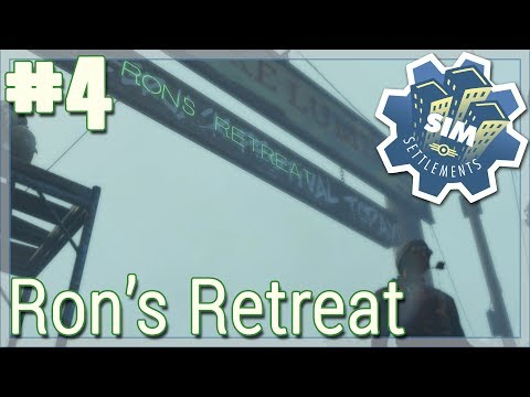 """Ron's Retreat // Ep. 4 - """"The Entry Sign!"""" // Fallout 4: Sim Settlements [Modded]"""