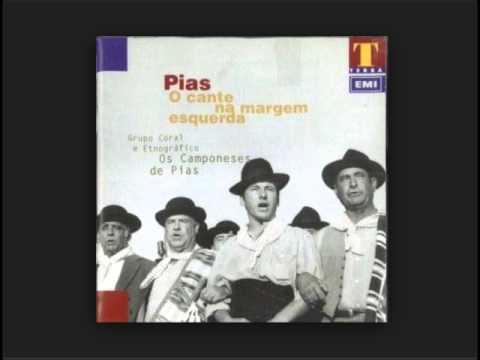 "Grupo coral e etnográfico ""Os Camponeses de Pias"" disco ""O cante na margem esquerda"" (1996)"