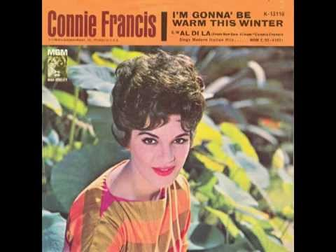 """Connie Francis – """"I'm Gonna Be Warm This Winter"""" [US 45] (MGM) 1962"""