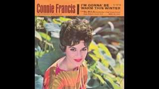 "Connie Francis – ""I'm Gonna Be Warm This Winter"" [US 45] (MGM) 1962"