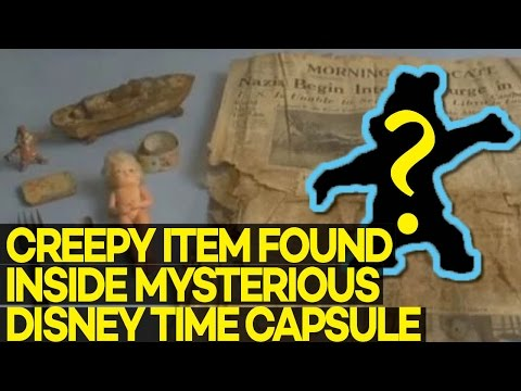 Download Youtube: Creepy Item Found Inside MYSTERIOUS Disney Time Capsule