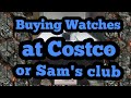 Buying Watches at Costco or Sam's club, IWC, Breitling,Cartier.