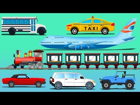 Passenger Vehicle |  Learn Vehicles Name | kids TV | Cartoon cars |