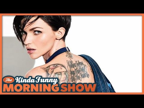 Ruby Rose Quits Twitter Over Batwoman Hate  The Kinda Funny Morning  08.13.18
