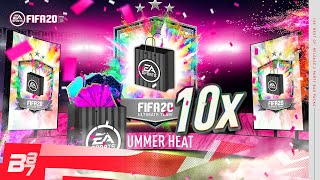 10 X BEST OF PARTY BAG 2 GUARANTEED PACKS! | FIFA 20 ULTIMATE TEAM