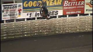 Exciting Crash Action from Knoxville Raceway 2001 Season