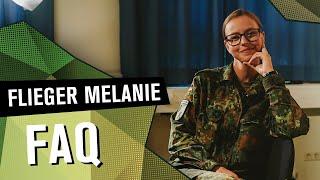 FAQ Flieger Melanie | DIE REKRUTINNEN | SPECIAL