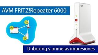 AVM FRITZ!Repeater 6000: ¡El mejor repetidor WiFi 6 con triple banda y puerto 2.5G Multigigabit!