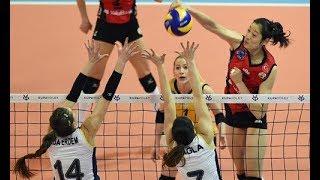 Zhu Ting(朱婷) 30 points  Vakıfbank-Fenerbahçe  Turkish Women's Volleyball League 2018-2019