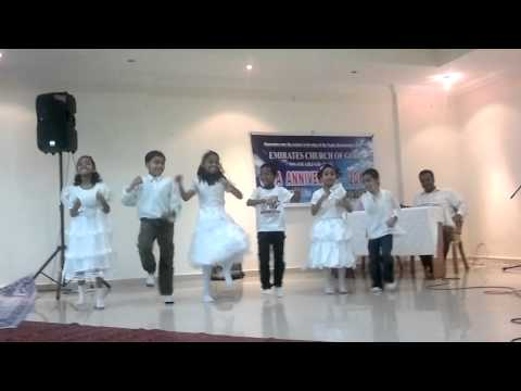 Emirates Church of God Sharjah CYPA Anniversary.21-6-2013