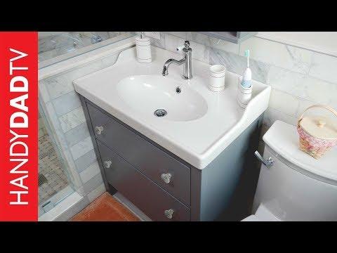 Attrayant IKEA Hemnes Vanity Installation | Master Bath Remodel (Part ...
