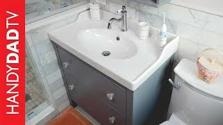 IKEA Hemnes Vanity installation | Master Bath Remodel (Part 8)