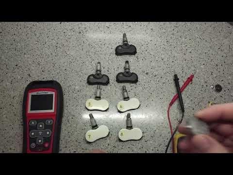 Датчики давления шин с AliExpress