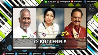 O Butterfly (meera) Piano - Guitar - Flute - Violin - Sax